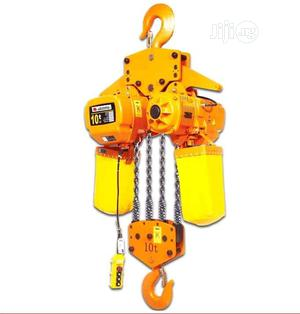 Electric Chain Hoist 10tons | Manufacturing Equipment for sale in Lagos State, Amuwo-Odofin