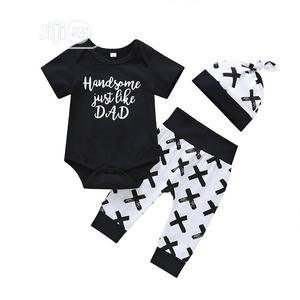 3 in 1 Baby Overall and Pant Set for 3-12m | Children's Clothing for sale in Lagos State, Amuwo-Odofin
