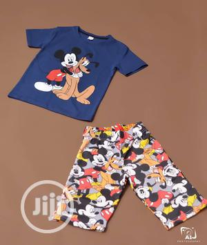 Boys 2 Piece Mickey Mouse Pluto the Pup   Children's Clothing for sale in Lagos State, Ojodu