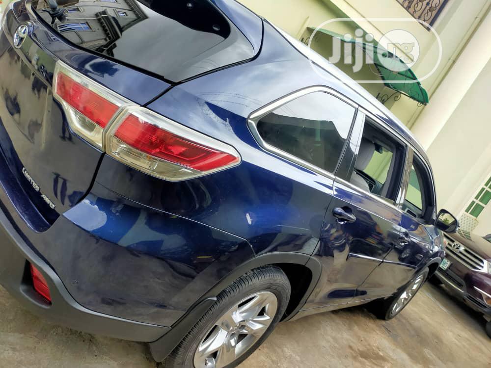 Toyota Highlander 2014 Blue | Cars for sale in Amuwo-Odofin, Lagos State, Nigeria
