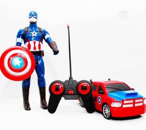 Captain America Figure Car   Toys for sale in Lagos State, Amuwo-Odofin