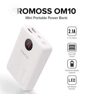 ROMOSS OM10 Power Bank 10000 Mah | Accessories for Mobile Phones & Tablets for sale in Lagos State, Ikeja