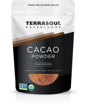 Terrasoul Superfoods Raw Organic Cacao Powder, 1 Lb   Vitamins & Supplements for sale in Lagos State, Lekki