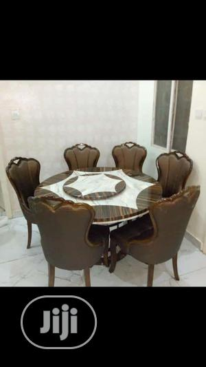 Quality Portable Marble Round Dining Table | Furniture for sale in Lagos State, Lekki