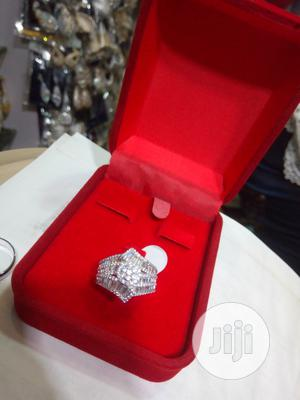 Dubai 925 Ladies Sterling Silver Engagement Ring | Wedding Wear & Accessories for sale in Lagos State, Ojodu