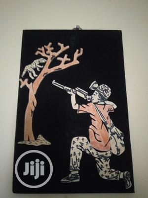Handmade Artwork Of A Hunter   Arts & Crafts for sale in Lagos State