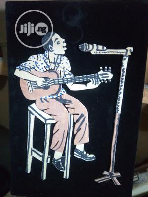Handmade Artwork Of An African Musician Playing Guitar | Arts & Crafts for sale in Lagos State, Ojodu