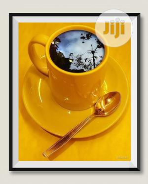 Art Work With Frame (Yellow) | Arts & Crafts for sale in Lagos State, Ajah