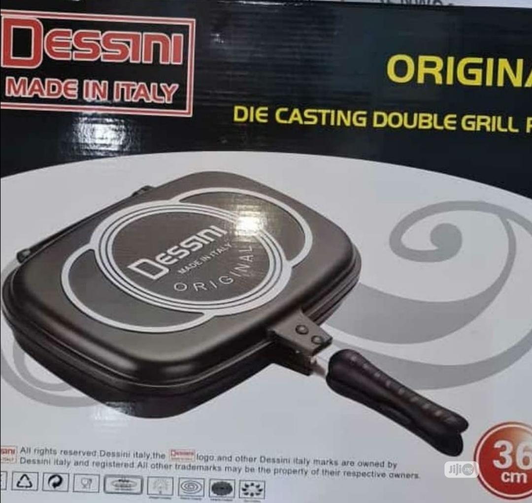 Archive: 36cm Dessini Double Grill Pan