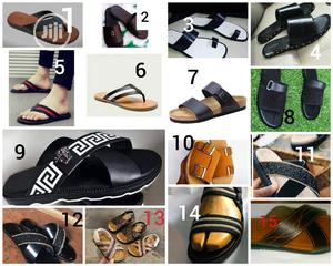 Unisex Pure Leather Slippers | Shoes for sale in Lagos State, Alimosho