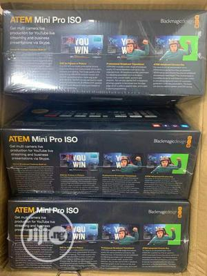 Blackmagic ATEM Mini Pro ISO HDMI Live Stream Switcher | Accessories & Supplies for Electronics for sale in Lagos State, Ojo