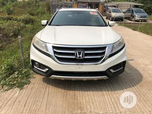 Honda Accord CrossTour 2013 EX-L w/Navigation AWD White | Cars for sale in Lagos State, Amuwo-Odofin