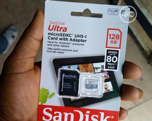 Sandisk 128gb Microsd Memory Card 100mb/S Class | Accessories for Mobile Phones & Tablets for sale in Lagos State, Ikeja