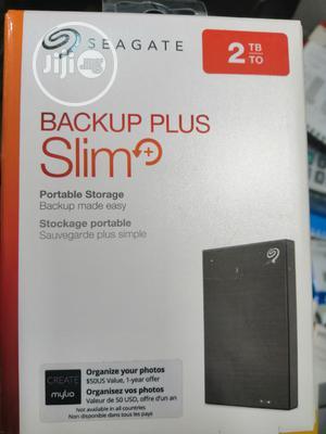 Sea Gate Backup Pluse Slim Hard Drive | Computer Hardware for sale in Lagos State, Ikeja