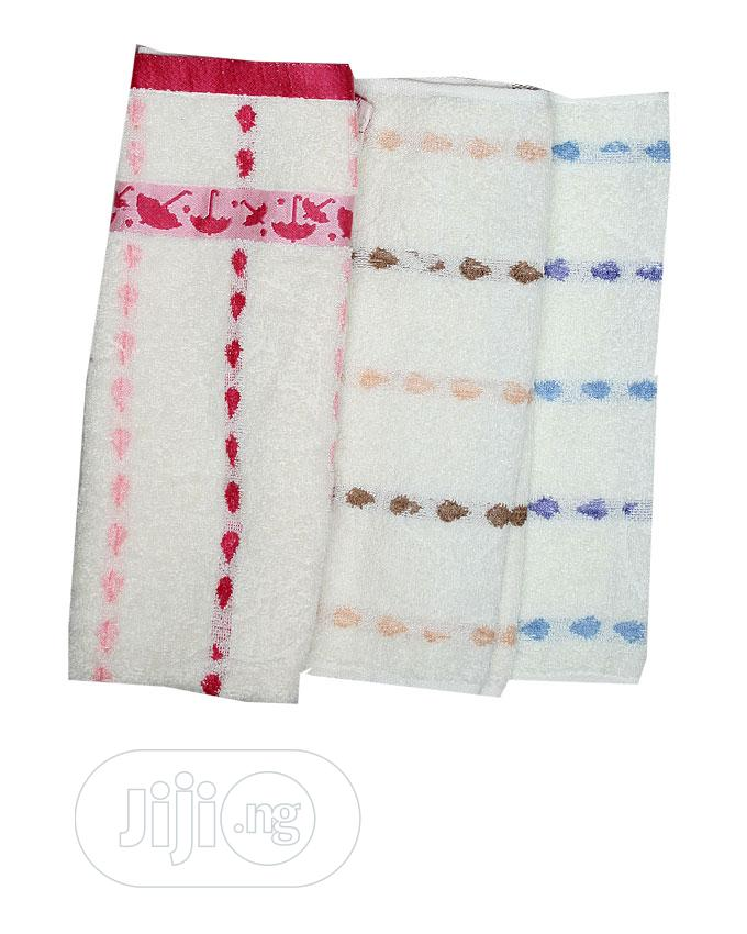 New Born Absorbent Baby Set Towel(3 in a Pack )Blue Multi
