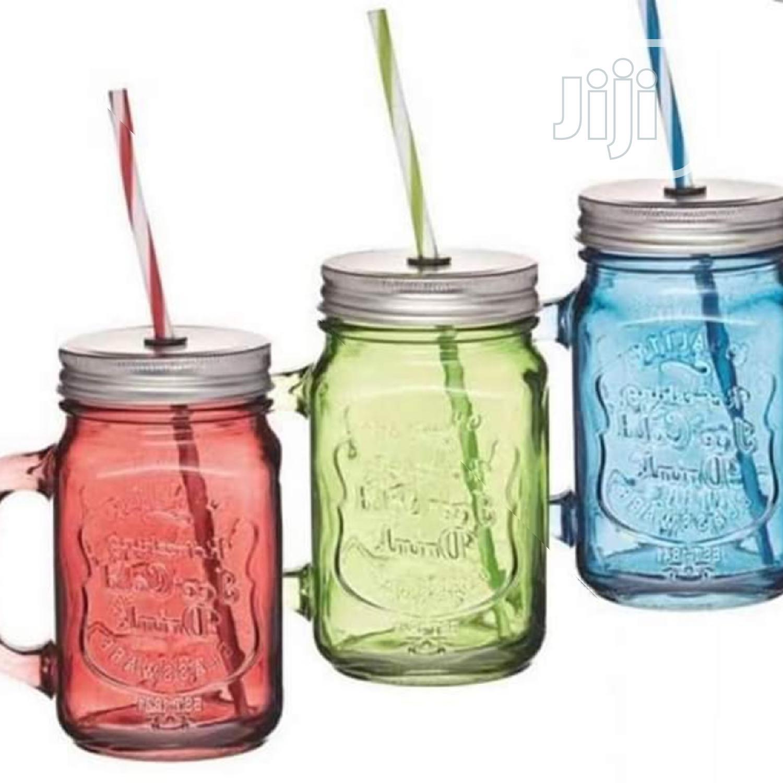 Mason Smoothie/Juice Jar