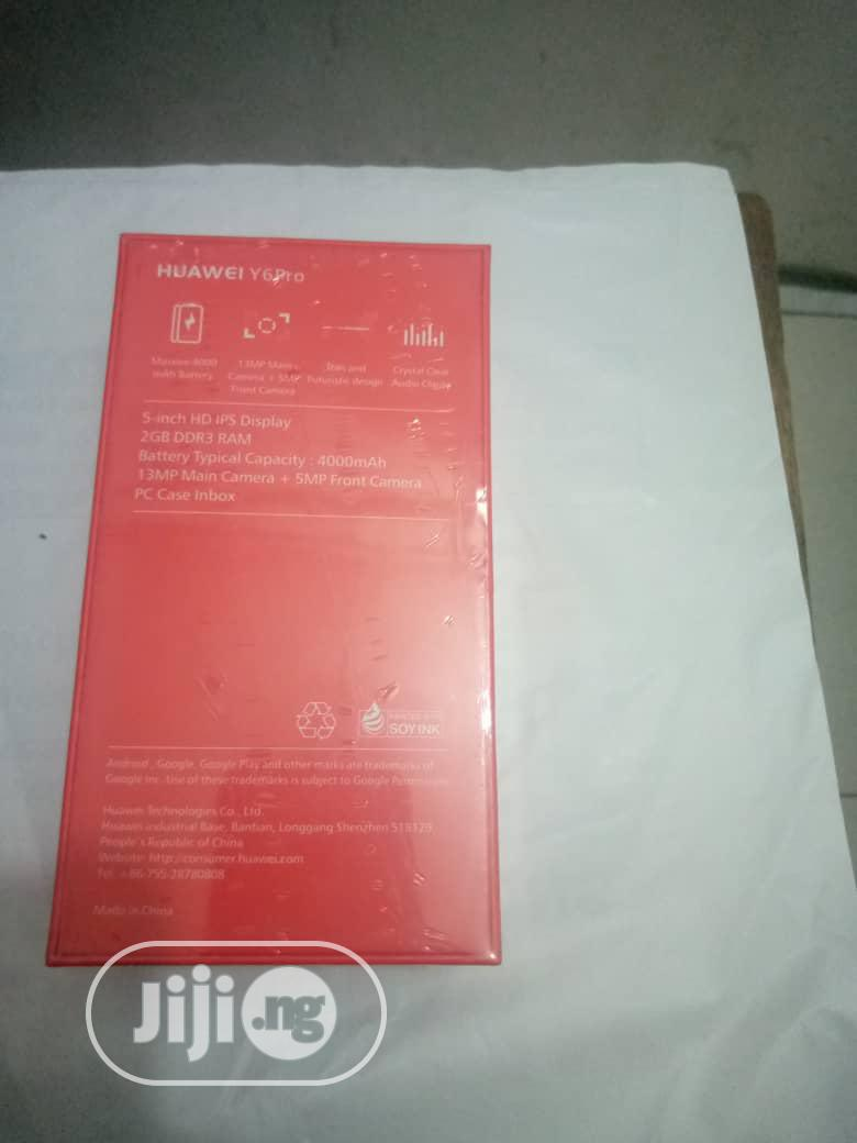 New Huawei Y6 Pro 32 GB Gold   Mobile Phones for sale in Ikeja, Lagos State, Nigeria