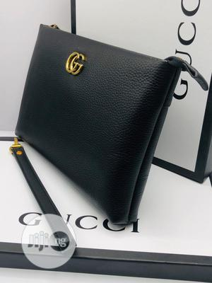 Gucci and Versace Top Quality Leather Men Pouch Bag/Purse | Bags for sale in Lagos State, Lagos Island (Eko)