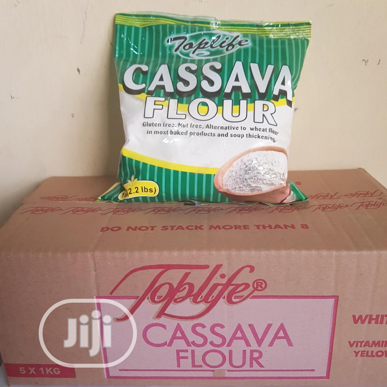 Toplife Cassava Flour 1kg X 5 Per Carton | Meals & Drinks for sale in Ibadan, Oyo State, Nigeria