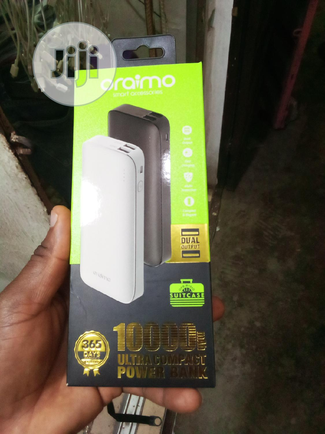 Oraimo 10000mah Power Bank | Accessories for Mobile Phones & Tablets for sale in Ikeja, Lagos State, Nigeria