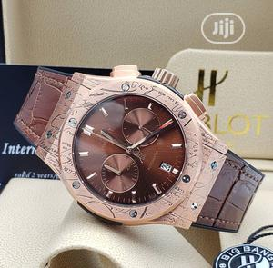 High Quality Hublot Leather Watch | Watches for sale in Lagos State, Magodo