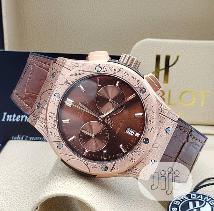 High Quality Hublot Leather Watch