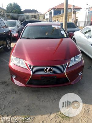 Lexus ES 2015 350 Crafted Line FWD Red | Cars for sale in Lagos State, Amuwo-Odofin
