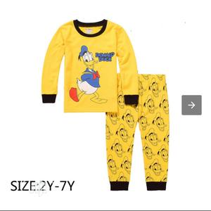 Cartoon Character Pyjamas. 100 % Cotton. Top Quality 👌   Children's Clothing for sale in Lagos State, Yaba