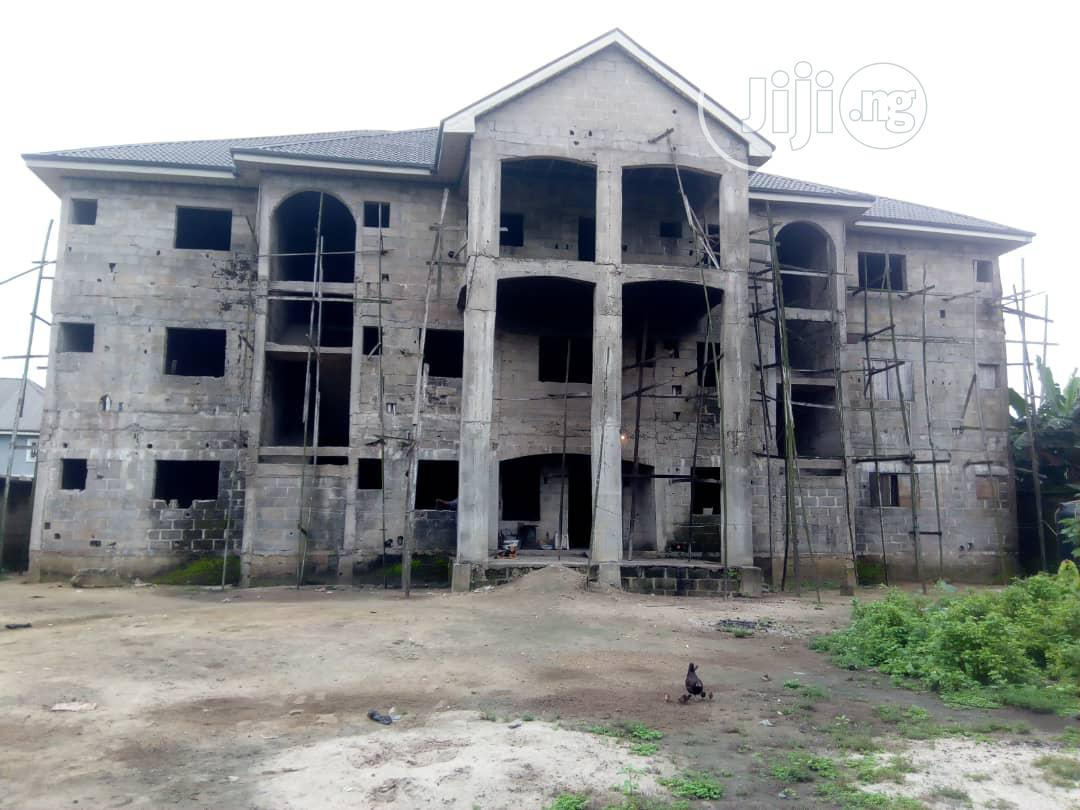 Uncompleted 27 Rooms Hotel For Sale Within SARS Road PH   Commercial Property For Sale for sale in Port-Harcourt, Rivers State, Nigeria