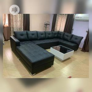 U-Shaped Sofa With a Center Table   Furniture for sale in Lagos State, Lekki