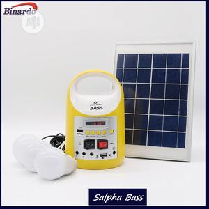 8000mah/6watt Solar Home Light Kit/Rechargeable Power Bank   Solar Energy for sale in Lagos State, Alimosho