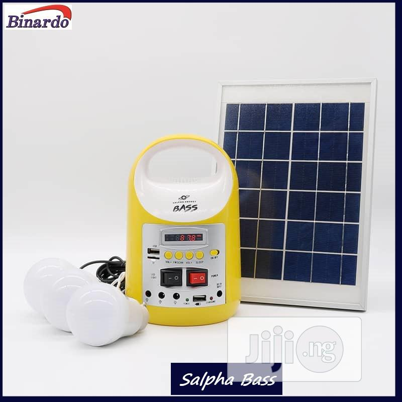 8000mah/6watt Solar Home Light Kit/Rechargeable Power Bank