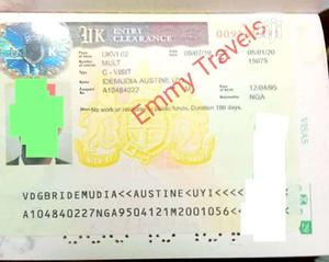 Garanttee UK Visa Available   Travel Agents & Tours for sale in Lagos State, Agege