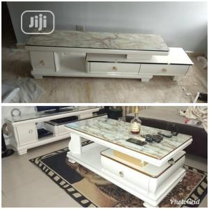 Imported Adjustable Tv Stand With Center Table | Furniture for sale in Lagos State, Lekki