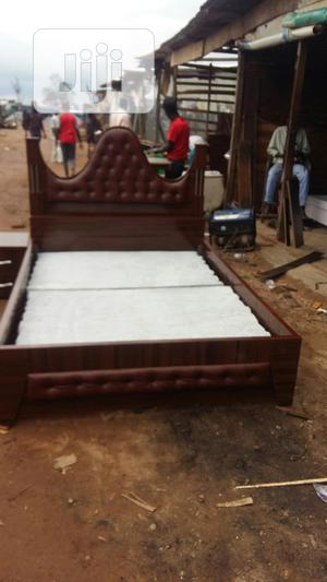 4x6 Bed Well Padded With One Bed Side | Furniture for sale in Abuja (FCT) State, Lugbe District