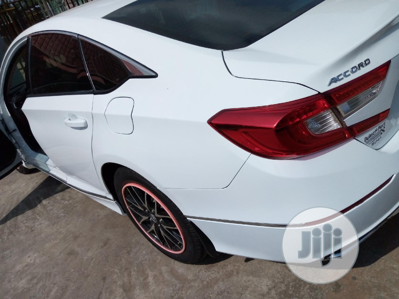 Honda Accord 2018 Sport 2.0T White | Cars for sale in Alimosho, Lagos State, Nigeria