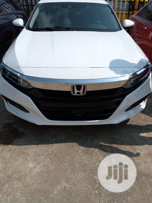 Honda Accord 2018 Sport 2.0T White