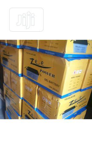 12v 200ah Zee Power Solar Battery | Solar Energy for sale in Lagos State, Ojo