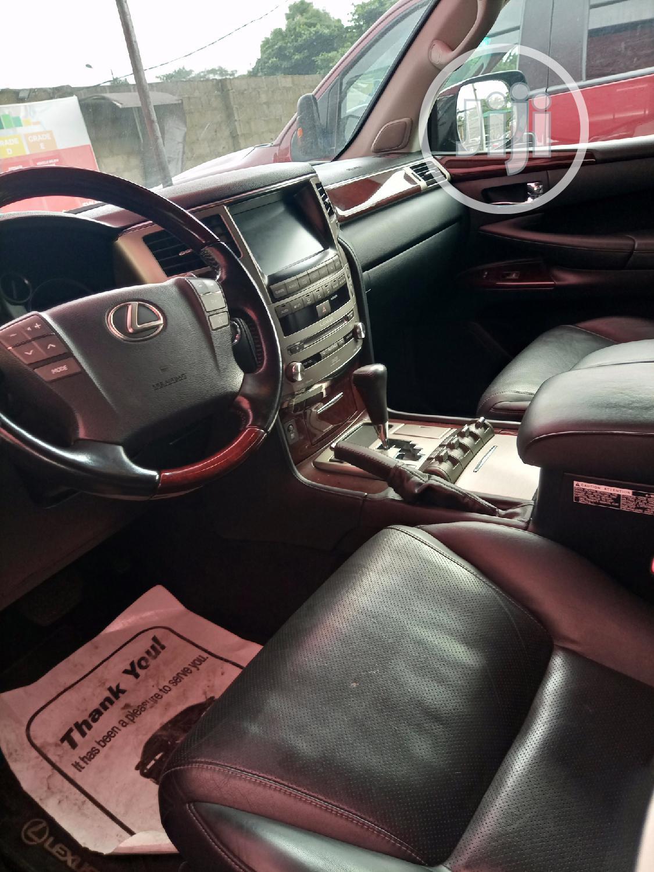 Archive: Lexus LX 2015 570 Base Black