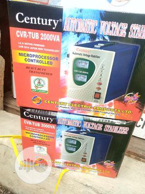 Century 2000va Automatic Voltage Regulator Stabilizer -   Electrical Equipment for sale in Lagos State, Ojo