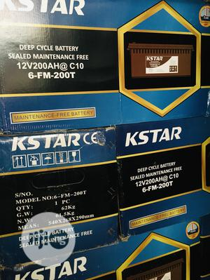 200ah 12v Kstar Battery Available With 1yr Warranty | Solar Energy for sale in Lagos State, Lekki
