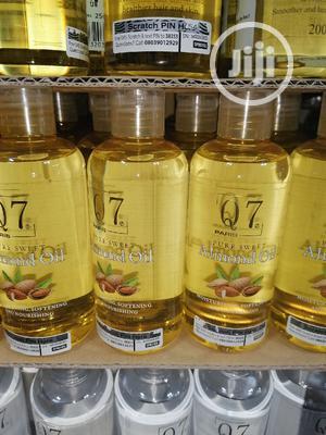 Q7 Almond Moisturizing Oil | Skin Care for sale in Lagos State, Amuwo-Odofin