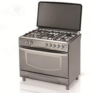 Brand New MAXI 5borner,All Gas Cooker,With Oven Grill,Silver | Kitchen Appliances for sale in Lagos State, Ojo