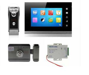 Automatic Door Lock With 7inchs TFT Monitor And Magnetic Lock   Doors for sale in Lagos State, Ojota