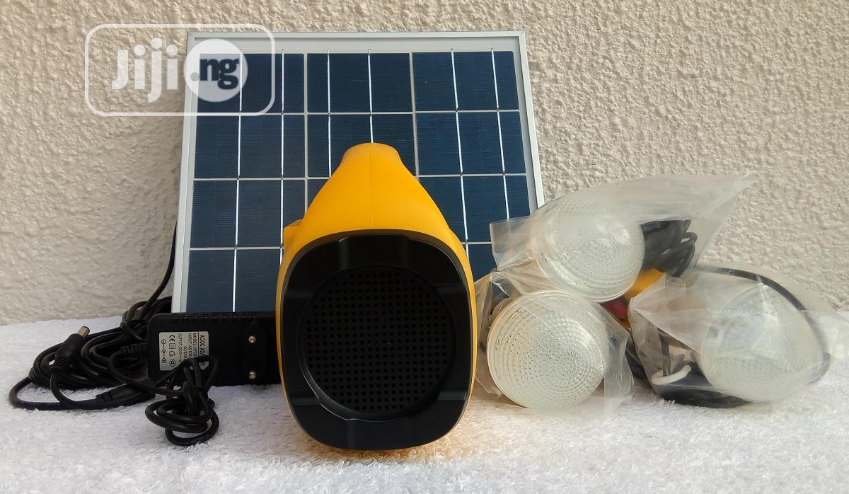 10000mah-10watt Rechargeable Solar Energy Home Lighting Kit   Solar Energy for sale in Ipaja, Lagos State, Nigeria