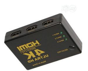 4K High Speed HDMI 3x1 3 In 1 Out Ultra HD Switch | TV & DVD Equipment for sale in Lagos State, Ojodu