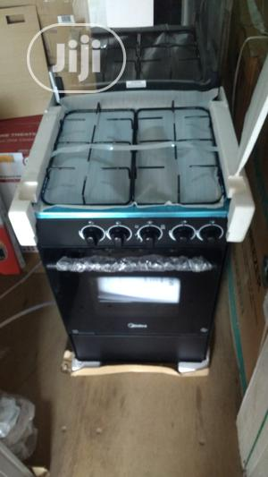 Midea 50*55 4-Burner Gas Cooker W/Oven Grill (20bmg4g007-B) | Kitchen Appliances for sale in Lagos State, Ojodu