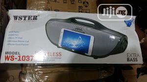 Wster Wireless Bluetooth Speaker   Audio & Music Equipment for sale in Lagos State, Ikeja