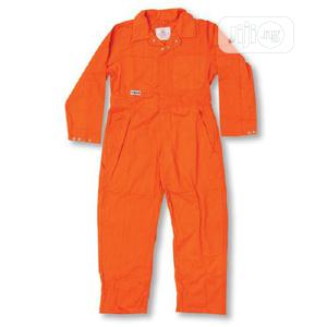 Cotton Coverall Without Reflective (Navy Blue, Red & Orange)   Safetywear & Equipment for sale in Lagos State, Ikeja