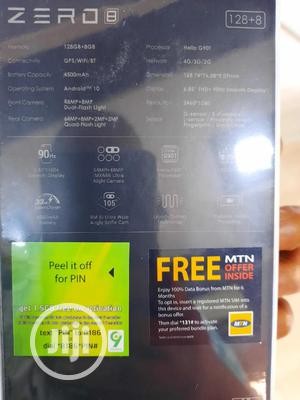 New Infinix Zero 8 128 GB | Mobile Phones for sale in Rivers State, Port-Harcourt